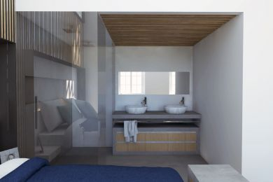 bathroom master bedroom